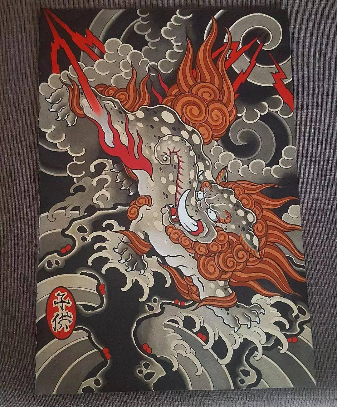 41款日式老传统,大满背居多