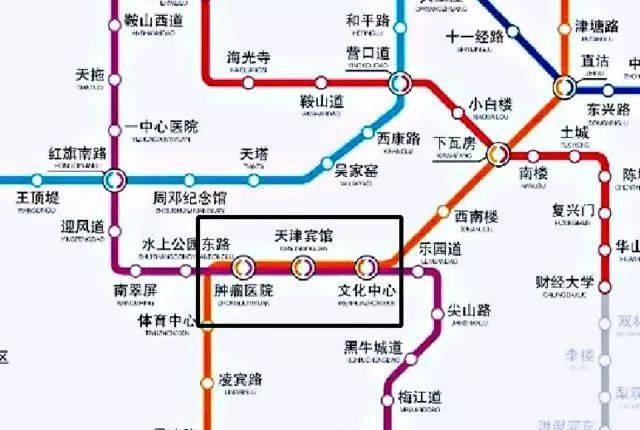 2019天津地铁换乘攻略,最新运营时刻表,超全