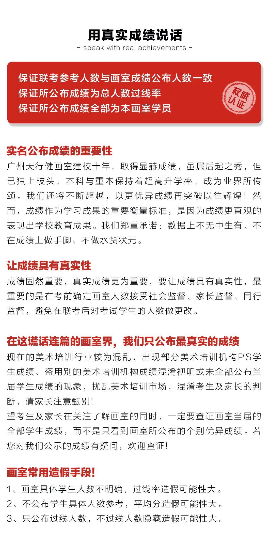 2021年广东美术联考分数线